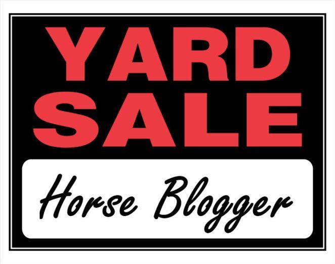 horsebloggeryardsale